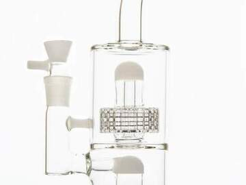 Post Now: Thick Double Stereo Matrix Bong