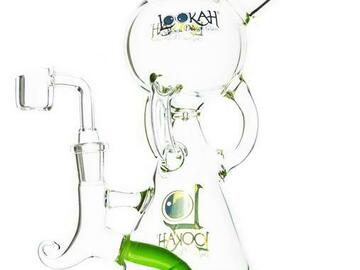 Post Now: Lookah Glass - Triple Arm Recycler Rig