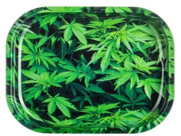 Post Now: Green Leaf Rolling Tray