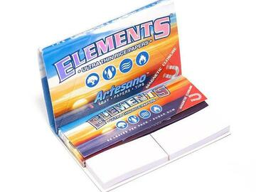 Post Now: Elements Artesano Rolling Papers with Tips - 1¼