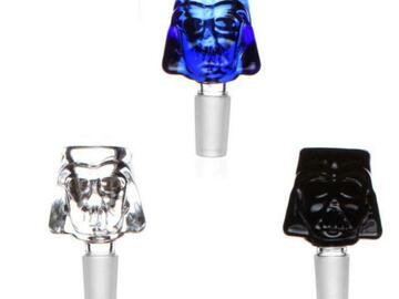 Post Now: Darth Vader Glass Bowl For Bong 14mm Male