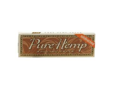 Post Now: Pure Hemp Unbleached Rolling Papers - 1¼