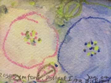 Sell Artworks: Rose - Symphonie - pastel I