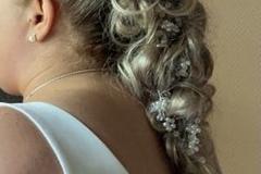 Ilmoitus: Hiuskoru köynnös hopea
