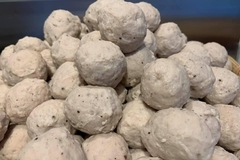 Selling: Freshly made pork meat balls