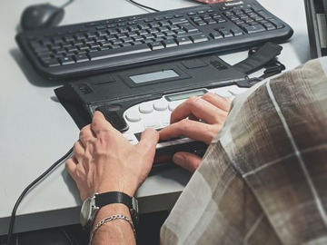 Looking for volunteers: Free Online Braille Transcription Class