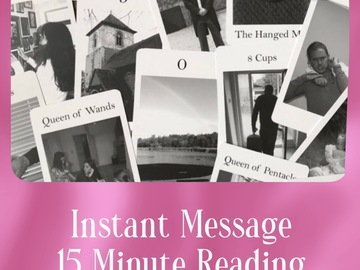 Selling: 15 Minute Instant Message Tarot Reading