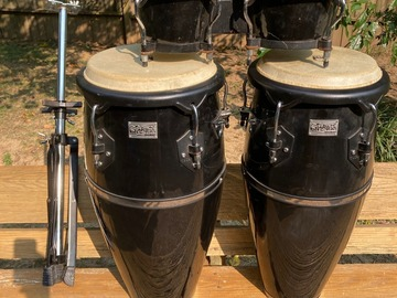 Selling with online payment: Toca Congas & Bongos w stand $300 or best offer pickup in Memphis