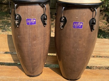 Selling with online payment: Pearl Congas (Afro by Pearl) - $150 OBO (Memphis)