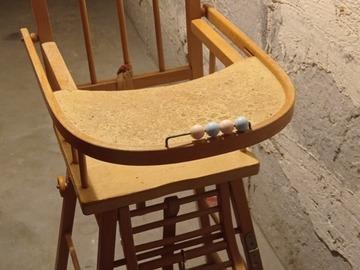 Vente: Chaise haute