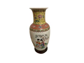 Vente: Vase chinois année 60 parfait état