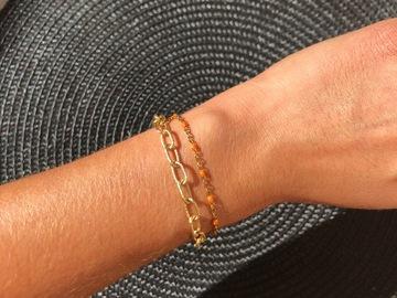 Vente au détail: Bracelet Ax (orange)