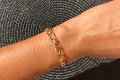 Vente au détail: Bracelet Ax (rouge)