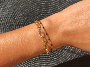 Vente au détail: Bracelet Ax (noir)