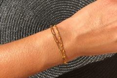 Vente au détail: Bracelet Zozie (orange)