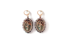 Selling: One-of-a-kind Gorgeous Beaded Fairy Earrings