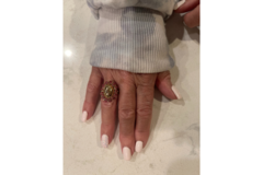 Selling: Gorgeous Pink Statement Ring