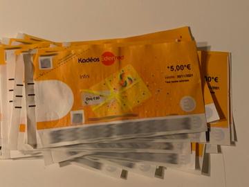Vente: Chèques Kadéos Infini (120€)