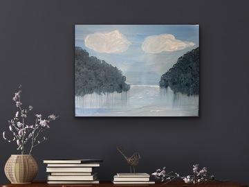 Sell Artworks: Blue lagoon