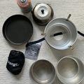 Vuokrataan (päivä): Trangia & kahvipannu