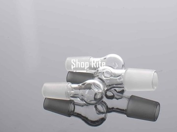 Post Now: Bong Connector 18mm Male to two 14mm Male