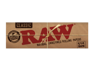 Post Now: RAW Classic Rolling Papers 1¼