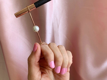 Post Now: PEARL JOINT HOLDER RING