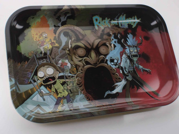 Post Now: Rick And Morty Rolling Tray Medium
