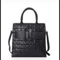 Bán buôn thanh lý lô: Genuine Leather Crocodile Textured Handbag Nordstroms Closeout
