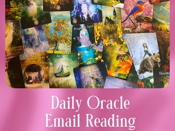 Selling: Daily Oracle Email Reading with The Sacred Forest Oracle