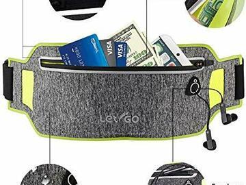 Liquidation/Wholesale Lot: Let-Go – Reflective Running Belt Waist Pack