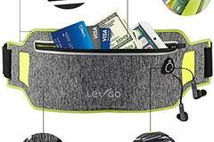 Bán buôn thanh lý lô: Let-Go – Reflective Running Belt Waist Pack