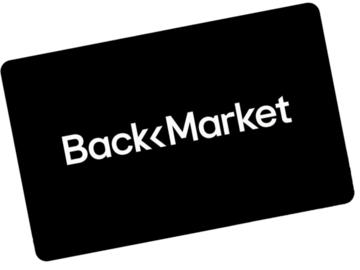 Vente: e-Carte cadeau BackMarket (100€)