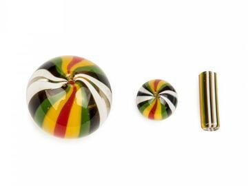Post Now: GEAR Premium Multi Colour Terp Slurper Heat Bead & Carb Cap Set