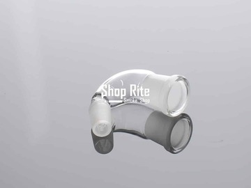Post Now: Bong Connector 18mm Female to 14mm Male Curved