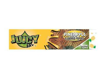 Post Now: Juicy Jay's Rolling Papers - King Size - Pineapple