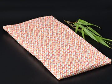 Vente au détail: Bouillotte Coussin L aux graines de lin Bio / Housse amovible
