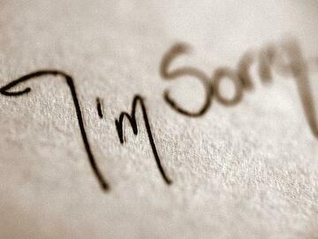 Selling: Channelled LETTER OF APOLOGY: Hear those all important answers