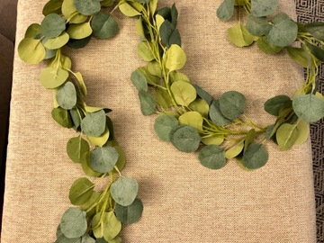 Ilmoitus: Eukalyptusköynnös 1,9m 20kpl ja kukkaköynnös 1,5m