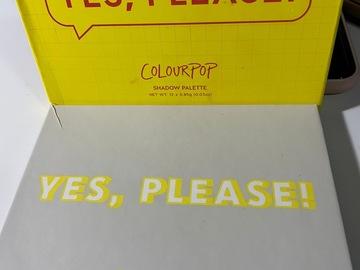 Venta: Yes pelase, Colourpop