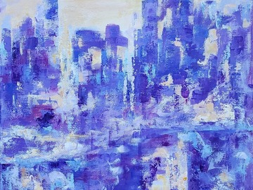 Sell Artworks:  Central park in winter