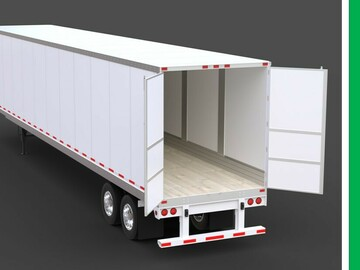 Repositioning with Rental Opportunity: Monroe, NC: (5) Dry Van Trailers