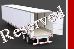 Repositioning with Rental Opportunity: Red Bluff, CA:  (10) Dry Van Trailers -- REPOSITIONING W/ RENTAL