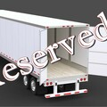 Repositioning with Rental Opportunity: Hermiston, OR:  (5) Dry Van Trailers -- REPOSITIONING W/ RENTAL