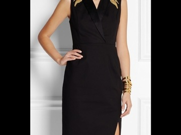 Selling without online payment: Altuzarra by Target black dress