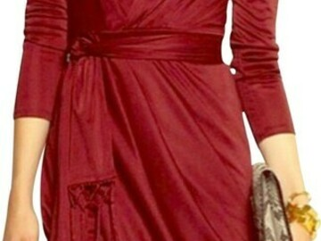 Selling without online payment: Altuzzarra by Target red satin dress