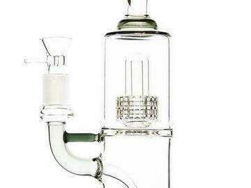 Post Now: Double Stereo Matrix Perc Water Pipe