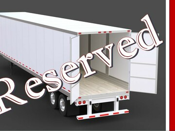 Repositioning with Rental Opportunity: Kent, WA:  (18) Dry Van Trailers -- REPOSITIONING W/ RENTAL