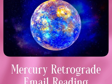 Selling: Mercury Retrograde Email Reading (9 Cards)
