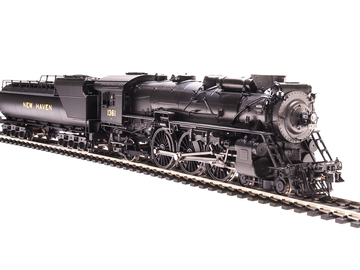 Selling with online payment: Broadway Limited HO NH I-4-c 4-6-2 brass Hybrid *MINT*